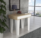 Consola Extensible nordic 3 m KL Blanca/Sonoma